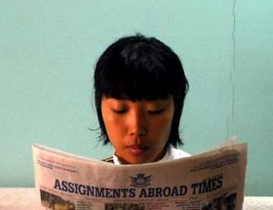 Zeitunglesen